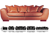 Click here for details - Sofa, Seating: Sectional, Material: Italian Leather, Colour: As photo, Note: Price for 1+2+3 seater,MOQ: 3 SETS, Note: Excellent product,EXW ( EX WORKS ) PriceRating: •••••
