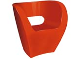 Click here for details - Leisure item, Style: Chair, Upholstery: Fiber Glass, Colour: Red, Height: 770mm, Legs: 740mm, Armrest: 740mm, Note: EXW ( EX WORKS ) PriceRating: •••°