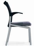 Click here for details - Office chair, Style: Visitor, Colour: Black, Arms: Yes, Note: EXW ( EX WORKS )Rating: •••