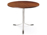 Click here for details - Table, Type: Coffee, Material: Plywood, Colour: As photo, Seating capacity: 2 seater, Shape: Round, Legs: Stainless steel, Width: 900mm, Depth: 900mm, Height: 750mm, Note: EXW ( EX WORKS ) PriceRating: •••°