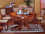 Click here for details - Table, Type: Dining, Material: Wood, Seating capacity: 6 seater (Chairs not included), Shape: Round, Legs: 4 legs, Width: 1500mm, Depth: 1500mm, Height: 760mm, Note: price for table onlyRating: ••••