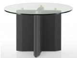 Click here for details - Office table, Type: Meeting, Material: Glass Top, Seating capacity: 4 seater, Shape: Round, Length: 1200mm, Width: 1200mm, Height: 750mm, Note: EXW ( EX WORKS ) PriceRating: ••••