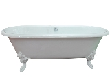 Click here for details - Bathroom, Type: Bathtub, Colour: White, Material: Cast Enameled Iron, Width: 800mm, Length: 1829mm, Height: 600mm, Inclusions: Continuous rolled rim top bath with imperial iron feet, Note: Wooden pallet package :48 pcs fit in 20ft container,EXW (EX WORKS) PRICERating: •••°