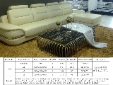 """Click here for details - Sofa, Seating: Stool + 2 seater + 2 seater, Material: Half Italian Leather, Colour: As photo, Shape: """"L"""", Pieces: 3 PCS, Inclusions: stool: 1500x1020x900mm, 2 seater: 2400x1020x900mm, Note: Price for set stool+2 seater+2 seater, Note: EXW ( EX WORKS ) PriceRating: ••••°"""