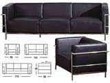 Click here for details - Sofa, Seating: Sectional, Material: Half Italian Leather, Colour: As photo, Pieces: 3, Note: EXW ( EX WORKS ) Price, Note: Price for one set(1+2+3 seater).Many colours available.Rating: •••°
