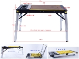 Click here for details - Machinery, Type: Workbench, Size: 1130x470x800mm, Colour: As Photo, Material: Plastic + MDF + Aluminum + Steel, Pieces: 1 pc, Inclusions: 4-in-1 Workbench/Scaffold/Creeper/Hand truck, With American(CUL), Australian(SAA) or European(GS) socket, Note: Option Functions: USB Model ,Wheels Folding System,the prices listed above not included, Note: EXW ( EX Works) PriceRating: •••••