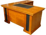 Click here for details - Desk, Type: Executive, Material: Wood, Colour: Cherry, Width: 1600mm, Depth: 850mm, Height: 760mm, Return/Side cabinet: Included left or rt 1000x475mm, Mobile underdesk cabinet: Included, Front panel: Yes, Note: Return fully assemble,EXW ( EX WORKS ), Inclusions: 3 pcs, Desk + Mobile + ReturnRating: •••
