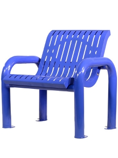 Chair, Style: Outdoor, Upholstery: Iron, Colour: White, black, blue, gray, red and so on, Height adjustment: No, Seat height: 840mm, Seat cushion width: 450mm, Seat cushion depth: 600m, Note: EXW ( EX WORKS ) Price